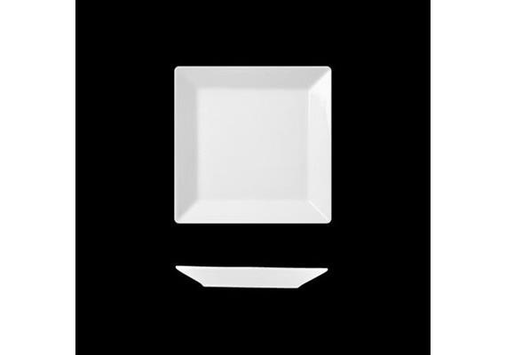 Actual Teller flach quadr. 21 cm