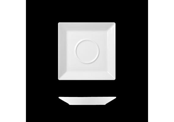 Actual Untertasse quadr. 13 cm q.doppel