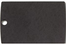 Allrounder Schneidebrett S schwarz ohne Saftrille