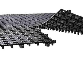 APS Abtropfmatte 34 x 34 cm h: 1 cm schwarz