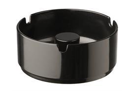 APS Aschenbecher d: 9.5 cm h: 4.5 cm schwarz