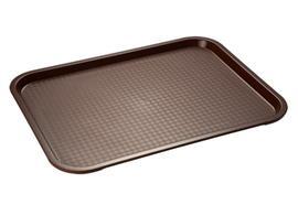 APS Fast Food-Tablett 35 x 27 cm braun