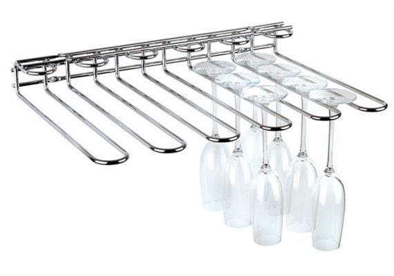 APS Gläserschiene 45x 32 cm h: 6 cm Platz für 20 Gläser