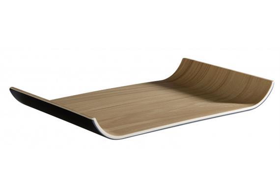 APS GN 1/4 Tablett Frida 26.5 16.2 cm schwarz/beige