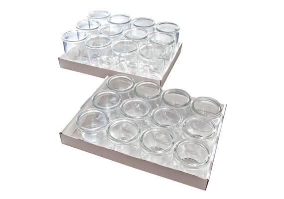 APS Gourmet-Gläser 12er Set 0.08l
