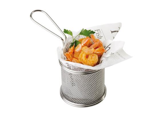 APS Servier-Frittierkorb Snackholder h:7.5 cm
