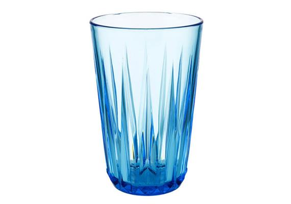 APS Trinkbecher Crystal d: 8 cm h: 12.5 cm 0.3 l blau