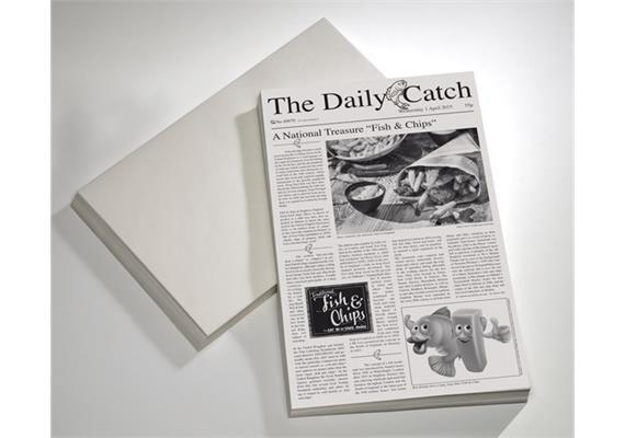 APS Wachspapier Motiv: Zeitung