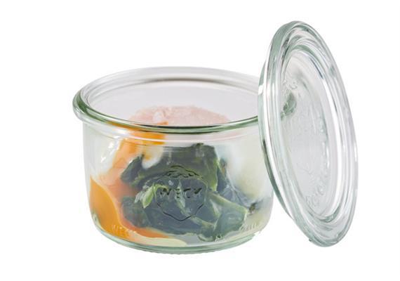 APS Weck-Glas mit Deckel 12er Set 200 ml