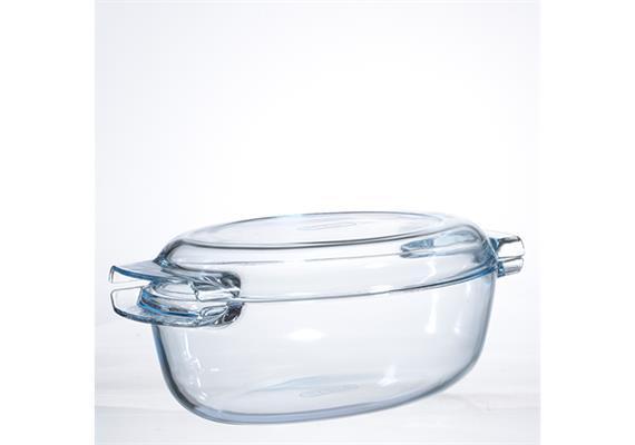 Cocotte Pyrex, oval, 4.5 l