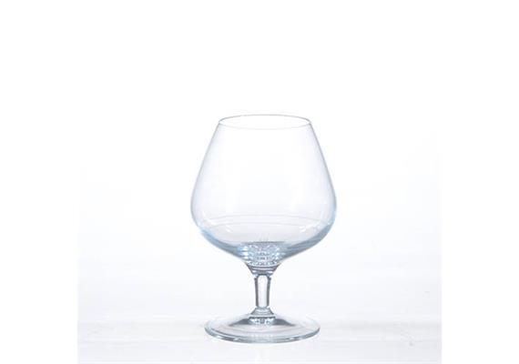 Cognacschwenker Giotto, Filet seidenmatt 2+4 cl, 39 cl