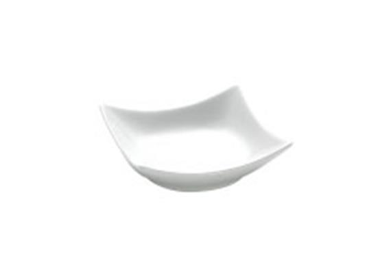 Dipschale quadratisch Wave, 10 cm 0.75 dl