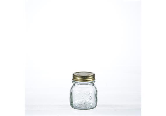 Einmachglas Quattro Stagioni, m Deckel, 0.15 lt