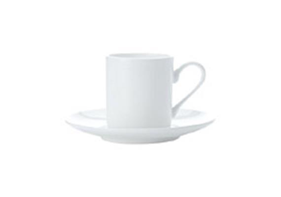 Espressotasse u. Untertasse H6.1cm 1.1dl