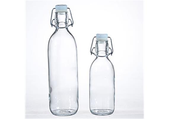 Flasche Emilia mit Bügelverschluss 1l