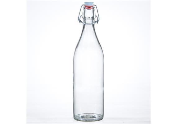 Flasche Lory m. Porz.Verschluss, 1 lt