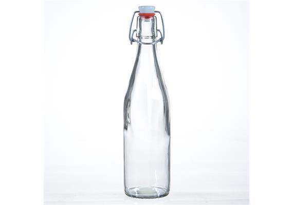 Flasche m. Porz.Verschluss, 5 dl