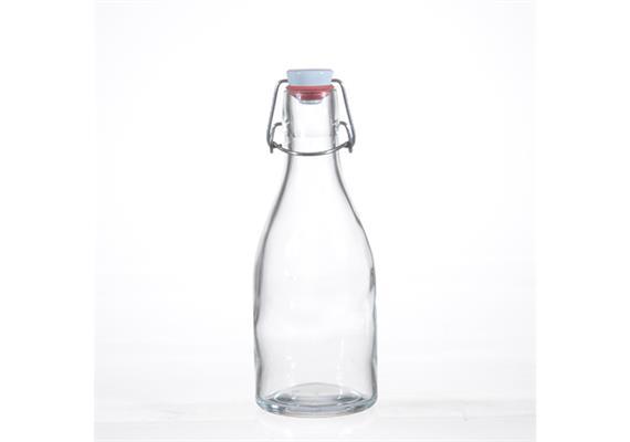 Flasche SUNNY mit Porz. Verschluss 7dl