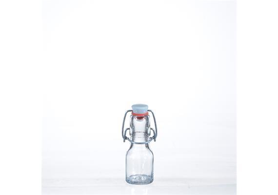 Flaschen m. Porz.Verschluss, 0.5 dl
