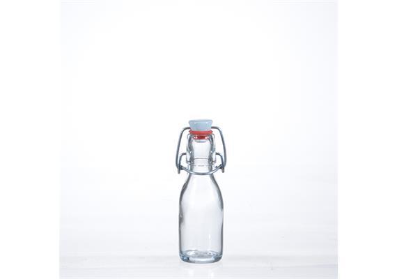 Flaschen m. Porz.Verschluss, 1 dl