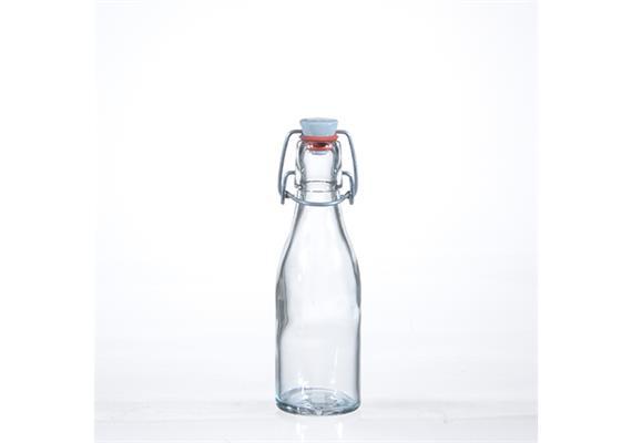 Flaschen m. Porz.Verschluss, 2 dl
