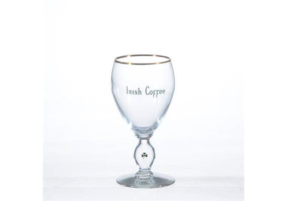 Glas Irish Coffee, mit Goldrand, 23 cl