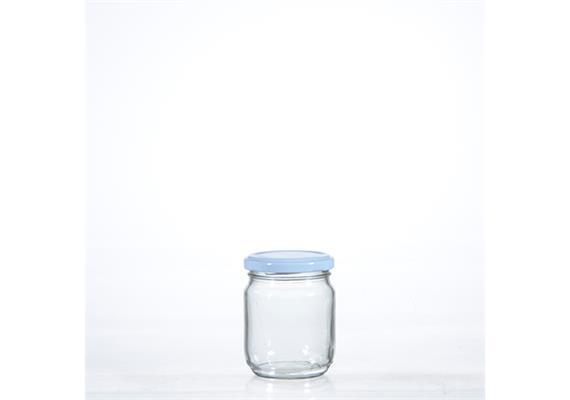 Honigglas hoch, mit Deckel, 20.5 cl