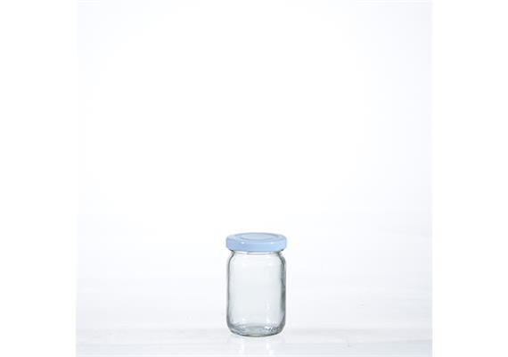 Honigglas, mit. Deckel, 10 cl