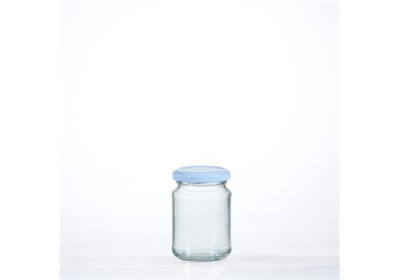 Honigglas, mit Deckel, 22.5 cl
