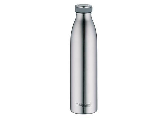 Isolier-Trinkflasche Edelstahl mattiert 0.75l