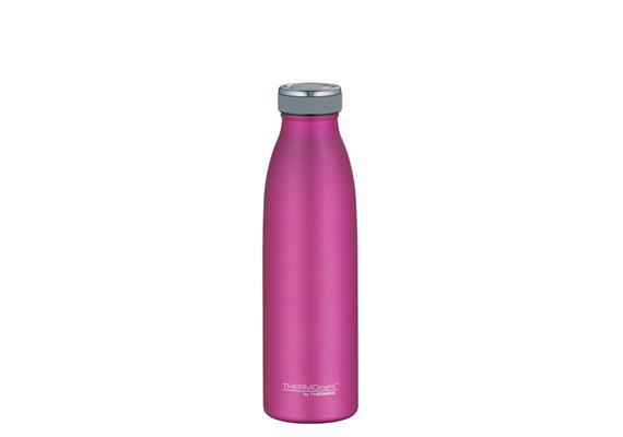 Isolier-Trinkflasche Edelstahl pink 0.5l