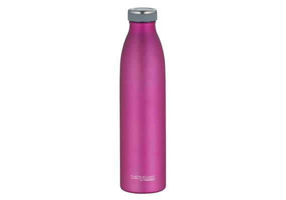 Isolier-Trinkflasche Edelstahl pink 0.75l