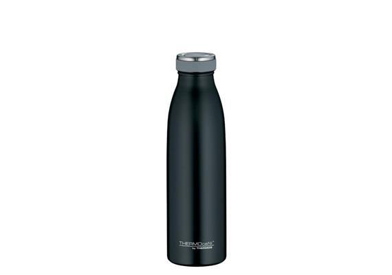 Isolier-Trinkflasche Edelstahl schwarz 0.5l