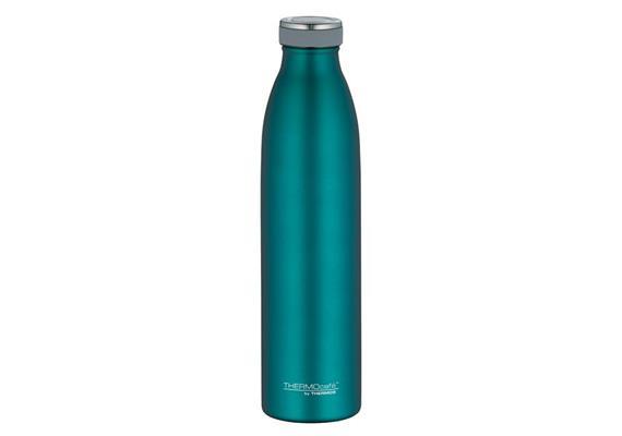 Isolier-Trinkflasche Edelstahl teal 0.75l