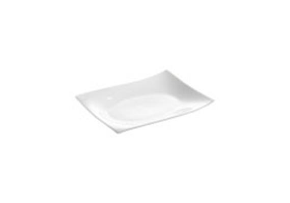 Platte eckig Motion, 25x19 cm