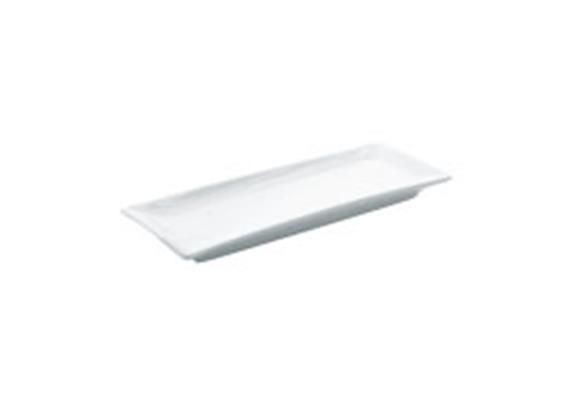 Platte rechteckig 26x10cm (27cm)
