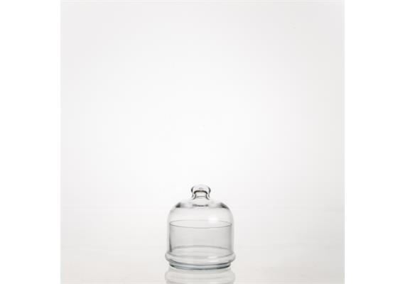 Schale mit Glocke Mini- Patisserie 11cm