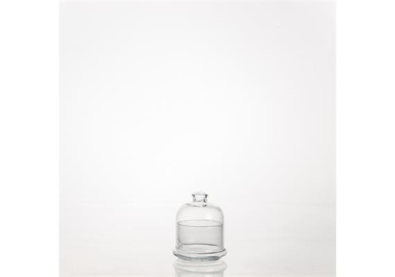 Schale mit Glocke Mini- Patisserie 8cm