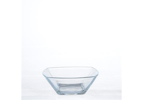 Schale transparent Eclissi, 12x12 cm