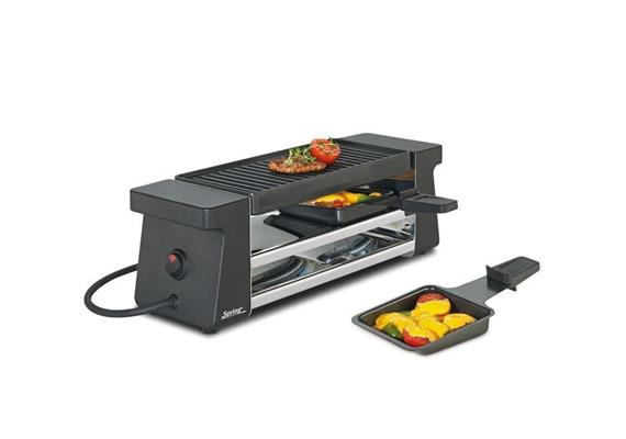 Spring Raclette 2 Compact schwarz CH