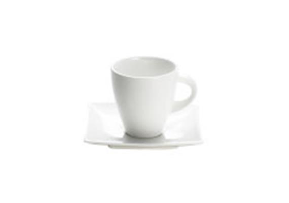Teetasse und Untertasse H8cm 2dl