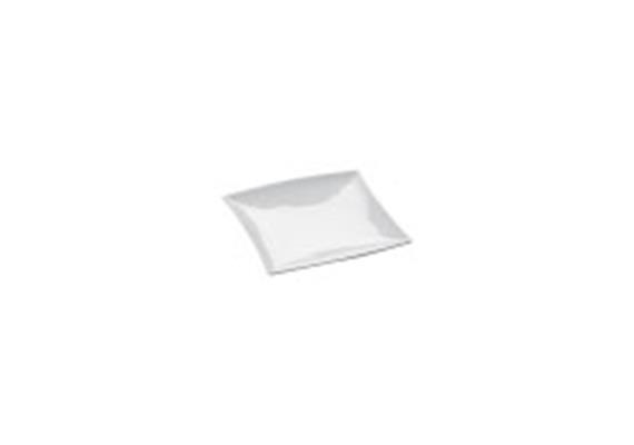 Teller quadratisch EMW, 18 cm