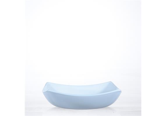 Teller tief Quadrato, weiss, 20 cm