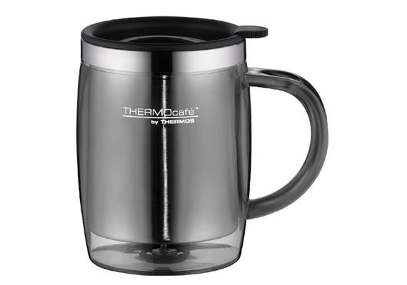 Trinkbecher Desktop Mug grau 0.35l