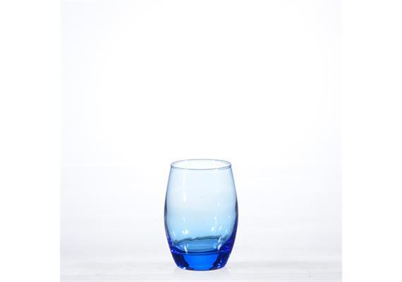 Whiskybecher Malea blau, uni 30cl